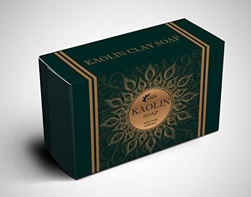 Jabón arcilla Kaolin kaolin clay soap esencia leche