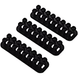Cablox Mini Cable Tidy System - Black (Pack of 3)