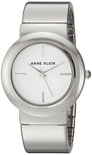 Anne Klein orologio al quarzo in metallo e lega abito da donna, colore: tonalità argentata (Model: AK/2641SVSV)