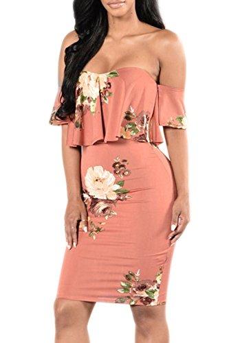creti-damen-fashion-elegant-schulterfreies-kleid-blumen-floral-off-shoulder-bodycon-partykleid-stran
