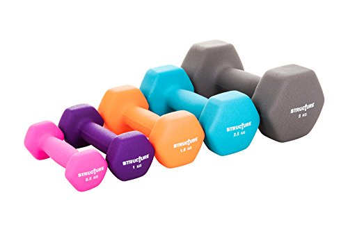 structure-fitness-r-set-of-2-iron-gym-dumbbells-with-colour-neoprene-grip-coating-sear-away-fat-tone