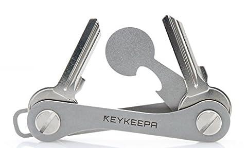 KEYKEEPA, Etuis porte-clés , acier inoxydable (argent) - KK-VA-BST-ORIG-V2
