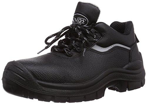 MTS Sicherheitsschuhe Santos Base+ Polo S3 Flex ÜK 4400, Unisex-Erwachsene Sicherheitsschuhe, Schwarz (schwarz), 43 EU (Polo Fashion Erwachsene)