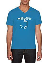 Touchlines Herren T-Shirts What Would Macgyver Do?