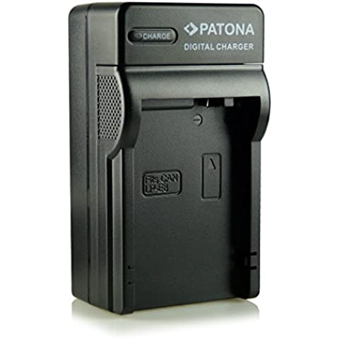 Patona® LP-E8 - Cargador 3 en 1 para Canon EOS 550D, 600D, 650D, 700D, Rebel T2i, Rebel T3i, Rebel T4i, Rebel T5i,