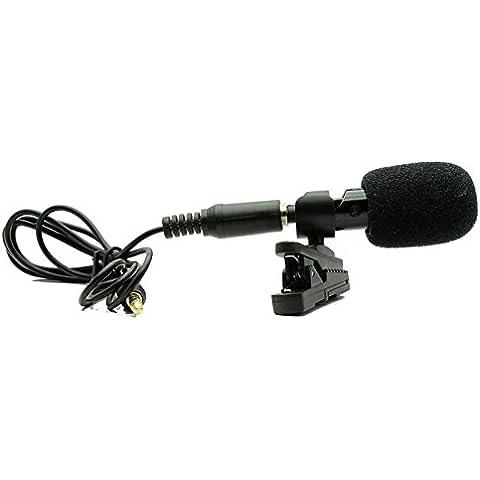 Uphig M6 3,5 mm Mini microfono a portafoglio con Clip per Apple iPhone 6 Plus iPad Clip-on External Audio Mic/Mike/Microphone For Apple iPhone 6 Plus iPad