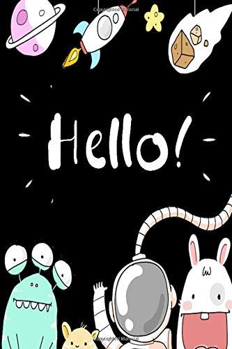 Hello: Superhelden Comic Notizbuch für Notizen, Termine, Skizzen, Zeichnungen oder Tagebuch | Geschenk zu Geburtstag oder Weihnachten [100 Seiten | liniertes Papier | A5 Format | Soft Cover] (Superhelden Kostüme Zeichnungen)