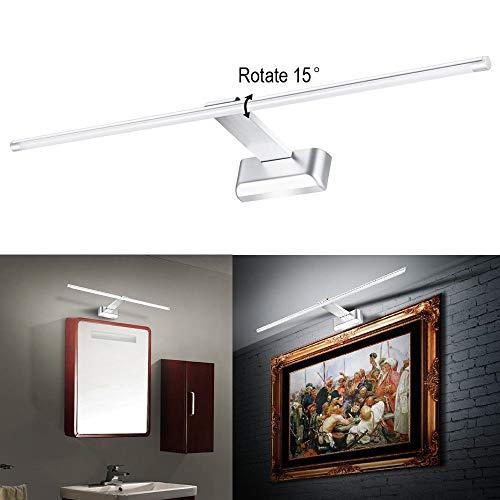 180-260V / AC führte Spiegelfrontleuchte Bildshow Beleuchtung Badezimmer Wandleuchte 9W Größe: 525 * 127 * 35 Mm (LXWXH), kaltes Weiß -