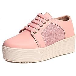 Klaur Melbourne Stylish Women Shoes/Sandals/Sneaker/Boots/Block Heels (Pink)
