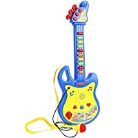 RKgupta Enterprises Guitar Musical Toy with Microphone (Color May Vary) for Kids