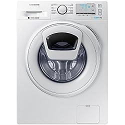 Samsung WW8EK6415SW Autonome Charge avant 8kg 1400tr/min A+++ Blanc machine à laver - Machines à laver (Autonome, Charge avant, Blanc, boutons, Rotatif, Gauche, 8 kg)