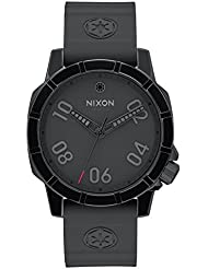 Nixon Herren-Armbanduhr Ranger 40 Imperial Pilot Black Analog Quarz Silikon A468SW2242-00