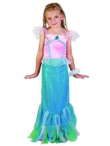 Kind Mystical Kostüm Kleine Meerjungfrau Buchwoche Kostüm Party Kids Mädchen (Kleine Meerjungfrau Zubehör Kostüm)
