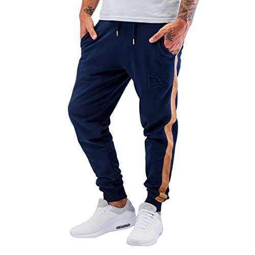 New Era Ne97060Fa16 Crafted Track Lnv - Pantaloni da sport da Uomo, colore Blu, taglia L
