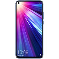 Honor View 20, Smartphone débloqué, 4G, (6,4 pouces, 8Go RAM, 256Go ROM, Double Nano SIM, Android P) Phantom Blue - [Version française]