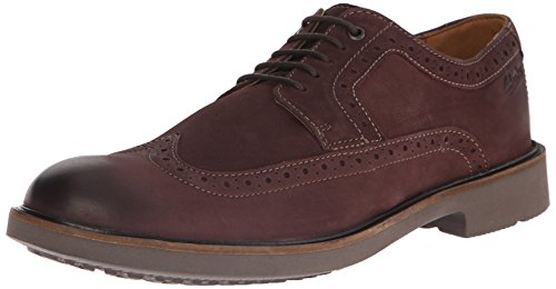 Clarks Wahlton Wing Oxford Chestnut Leather