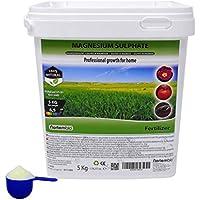 Nortembio Sulfato de Magnesio 5 kg, Abono universal, Fertilizante Natural para Cultivos, Plantas