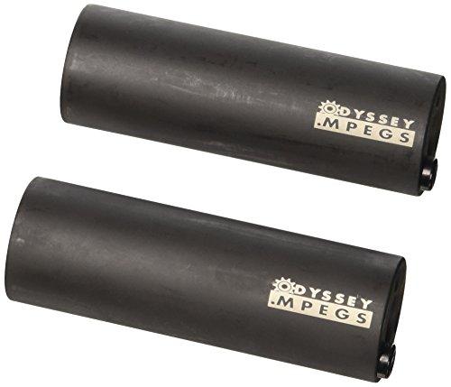 ODI Axlepegs Odyssey MPEGS 4 Zoll, Schwarz, 14 mm, A-208-BK