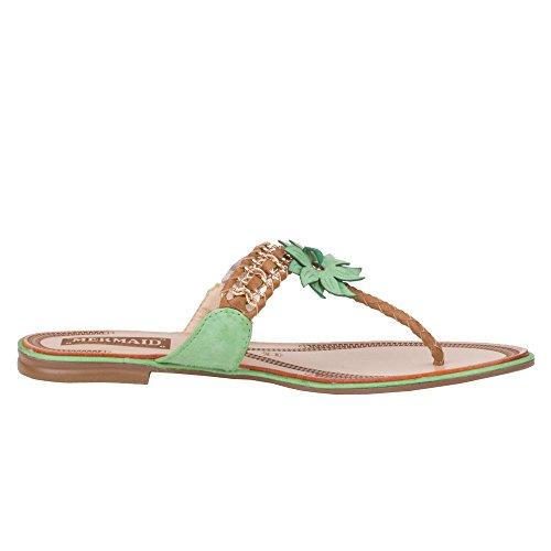 Ital - 12–m31162, sandales Vert
