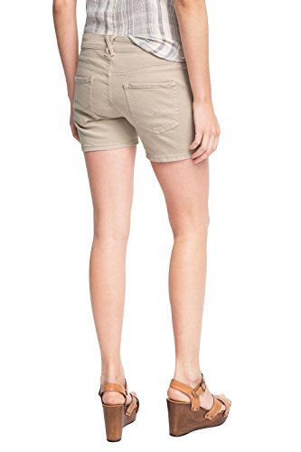 edc by ESPRIT Damen Short Beige (BEIGE 270)