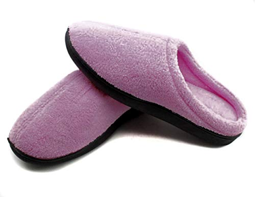 Zapatillas de Andar por casa de Gel Relax para Hombre y Mujer máximo Confort y Comodidad (X-Large, Fucsia)