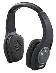 Denon AH-NCW500BK On-Ear Headphone with Mic (Black)