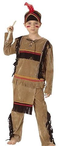 Boland 86947–Enfants Costume Indien Grand Aigle avec haut, pantalon et bandeau, 10–12ans