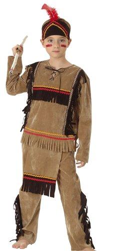Boland 86947 - Kinderkostüm Indianer Groߟer Adler mit Hose, Oberteil und Stirnband, 10 - 12 Jahre