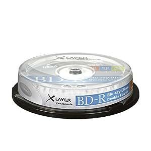 BD-R DL 50GB XLayer 4x 10er Cakebox