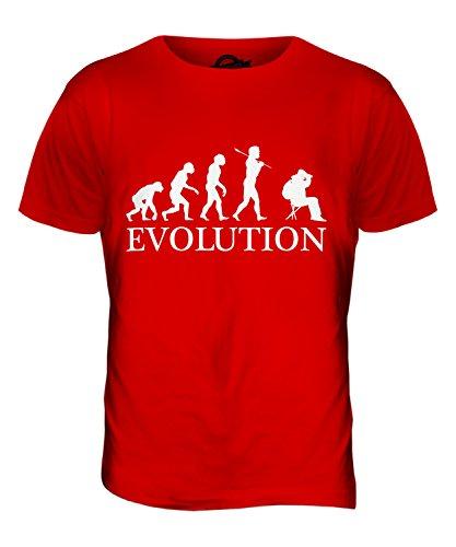 CandyMix Vogelbeobachtung Vögel Beobachten Evolution Des Menschen Herren T Shirt Rot