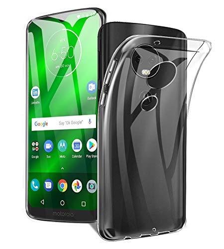 Moto G7 Play Hülle, Moto G7 Play Cover, AVIDET Ultra Dünn Durchsichtige Handyhülle Soft Flex Silikon TPU Case für Motorola Moto G7 Play - Transparent