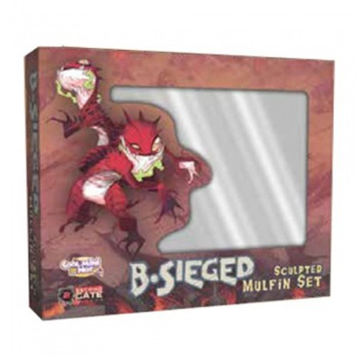 B-Sieged: Sculpted Mulfin Set – Board Game – Brettspiel – Englisch – English