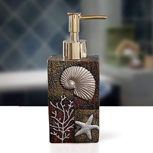 LXFP Creative Press Bottle Shampooing Bouteille De Gel Douche (250ml) (Couleur : B, Taille : 250ml)