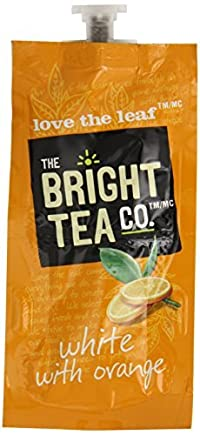 FLAVIA Tea, White with Orange, 20-Count Fresh Packs (Pack of 5)