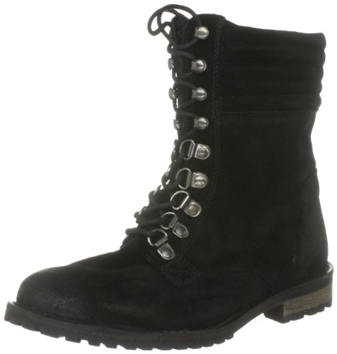 KG by Kurt Geiger Women's Sesame Black Hiking Boots 1827600109 4 UK