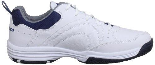 Health Communications Inc Sensor Court M, Scarpe da Tennis Uomo bianco (White/navy)