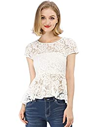 Suchergebnis auf für: peplum top weiß Blusen
