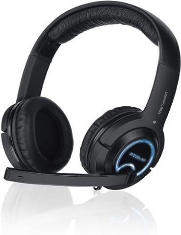 Speedlink Xanthos Console Gaming Casque avec Microphone et Télécommande Filaire pour PC et Consoles PS4, PS3 et Xbox 360 (Jack 3,5Mm)