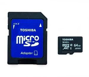 oshiba 64GB MICRO SD XC MEMORY CARD CLASS 10 UHS-I 64 GB HighSpeed