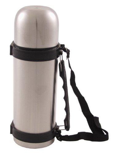 Fox Outdoor Bouteille Isotherme Vakuum en Acier Inoxydable avec poignée (Argent)