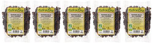 Moulin des Moines Raisins Secs Sultanines Bio 200 g - Lot de 5