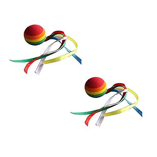Palle Eva Decorative di Antenna di Auto Disegno di Nastro SuxiDi 2 PCS Automobile Antenna Topper