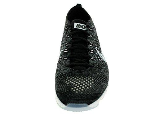 Nike Wmns Flyknit Zoom Agility, Scarpe da Ginnastica Donna Black/White/Dark Grey/Volt