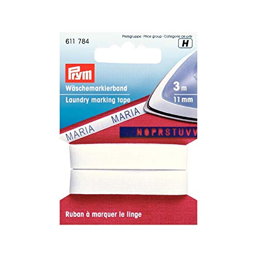 Prym Cinta marcar Ropa algodón 11mm Planch