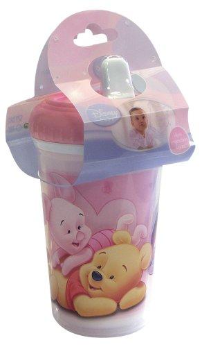 Spel 004629 - Vaso con boquilla, diseño Winnie the Pooh, color rosa