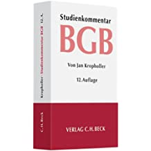 Bürgerliches Gesetzbuch: Studienkommentar