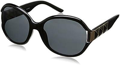 Guess - Gafas de sol Ovaladas GU7311, GU7311_C33 Black & Smoke