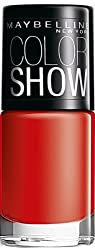 Maybelline Color Show Nail Enamel, Keep Up The Flame