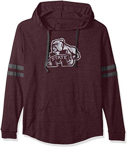 Ouray Sportswear Damen Kapuzen Low Schlüssel Pullover, Damen, Women's Hooded Low Key Pullover, Vintage Maroon/Vintage Grey -