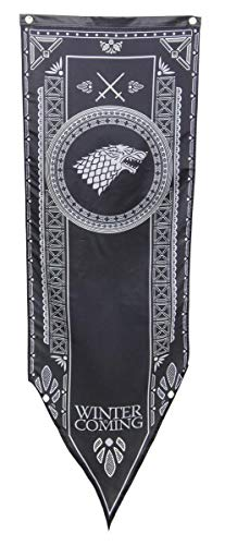 Game of Thrones House Stark 19,25' x 60' Fabric Tournament Banner